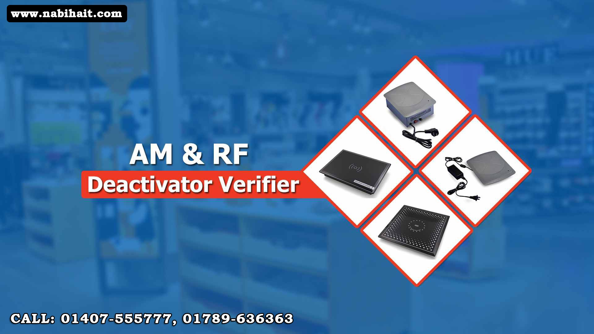 Security Tag Deactivator & Detector in Bangladesh